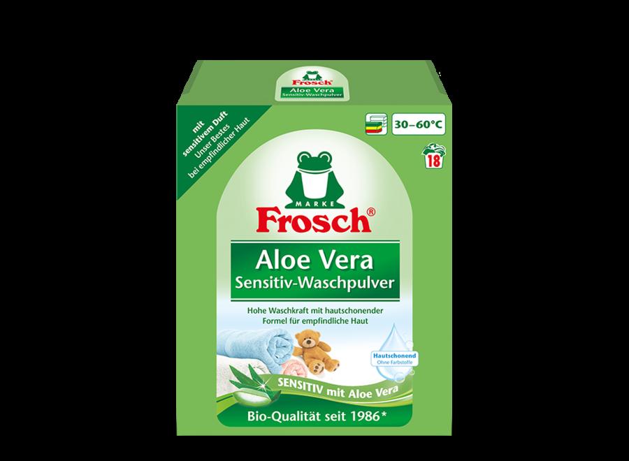 Aloe Vera Sensitiv-Waschpulver von Frosch