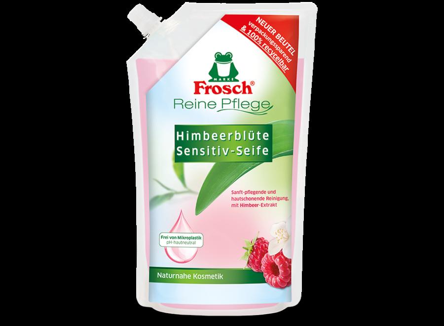 Frosch Himbeerblüte Sensitiv-Seife NFB 0,5L