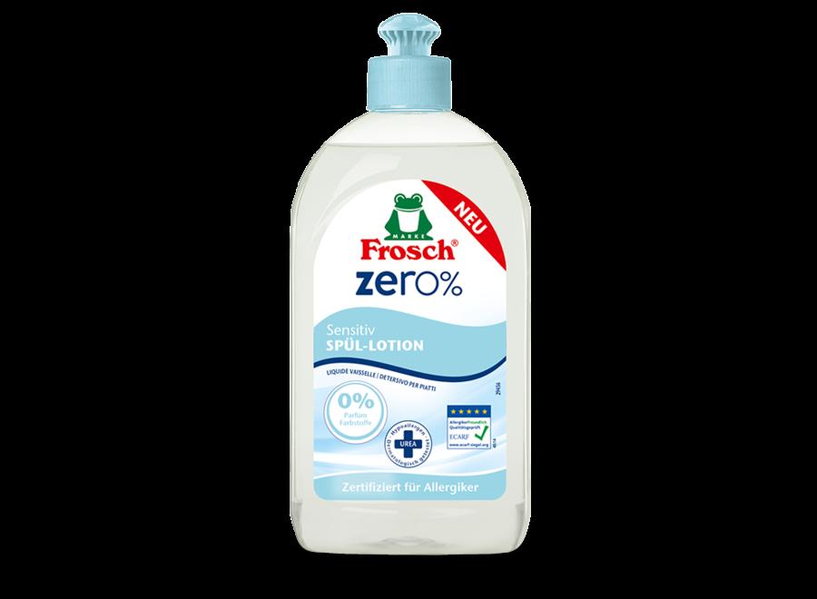 Frosch Zero% Sensitiv Spüllotion 0,5L