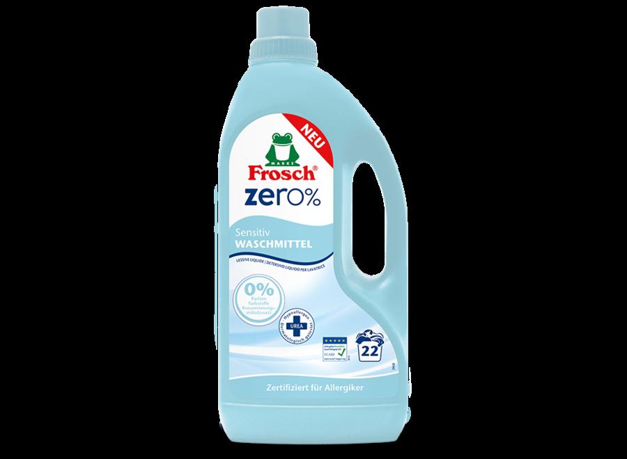 Sensitiv Waschmittel von Frosch Zero%