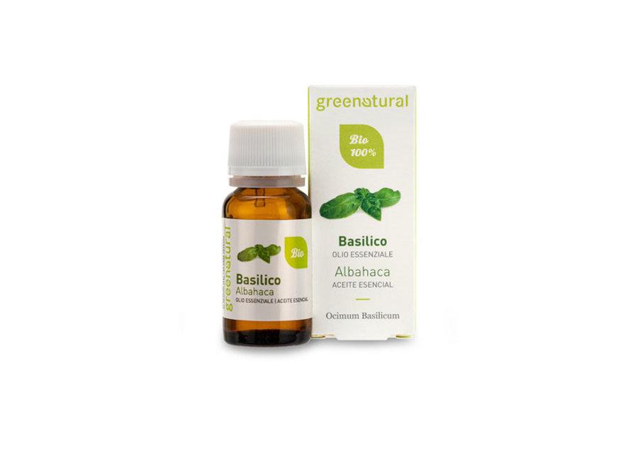 Bio Duftöl – Basilikum von Greenatural -10ml