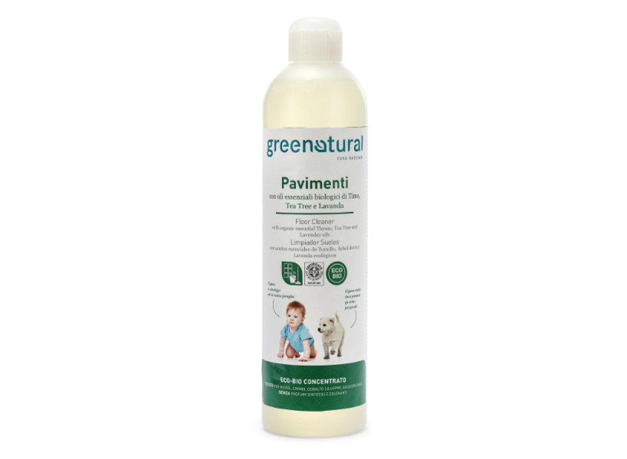 Bodenreiniger Thymian, Teebaum & Lavendel von Greenatural
