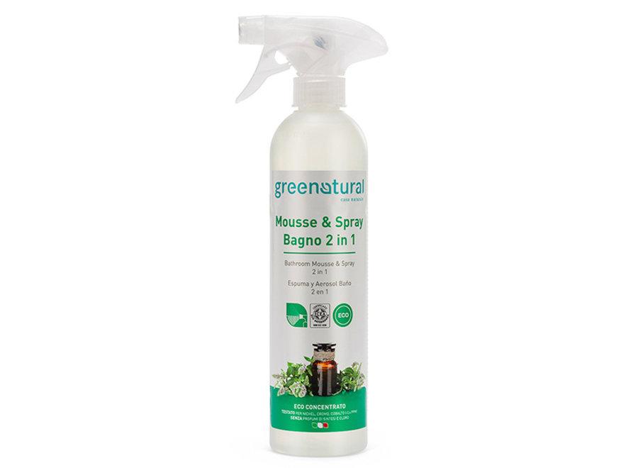 Badreiniger 2in1 Mousse und Spray von Greenatural