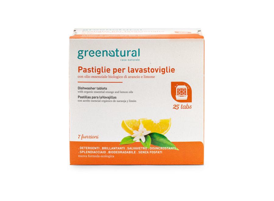 Geschirrspül-Tabs Zitrone & Orange von Greenatural