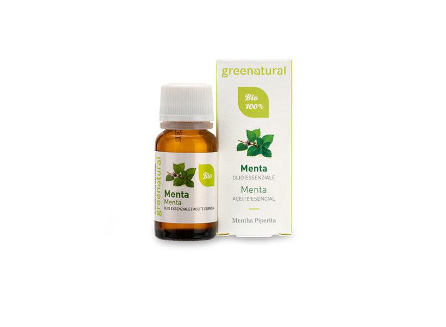 Bio Duftöl - Pfefferminze von Greenatural -10 ml