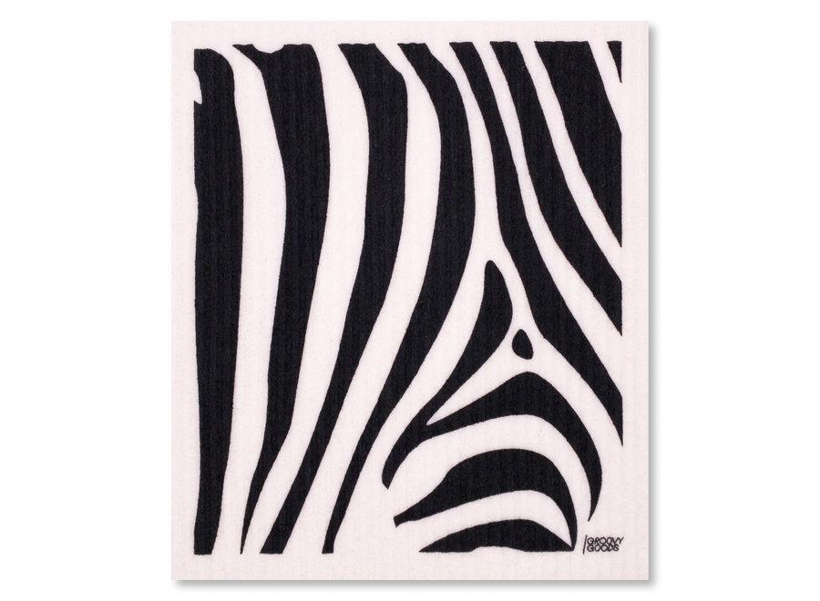 Ökologisches Schwammtuch Zebra