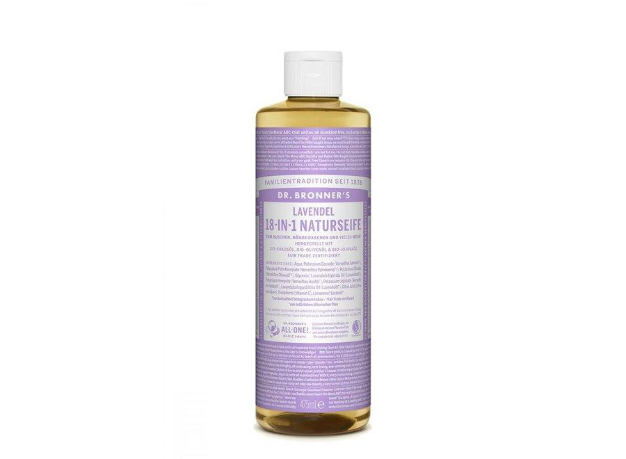 Dr. Bronner's Flüssigseife Lavendel