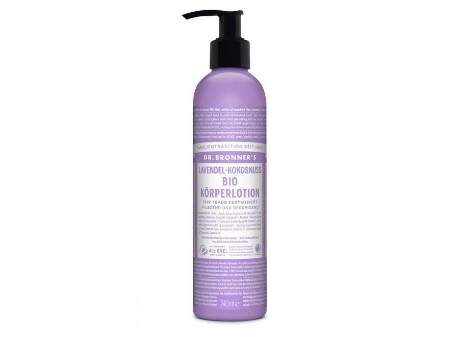 Körpermilch Lavendel Kokosnuss