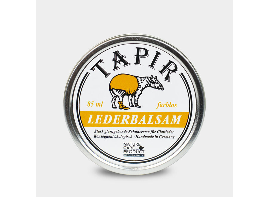 Tapir Lederbalsam farblos