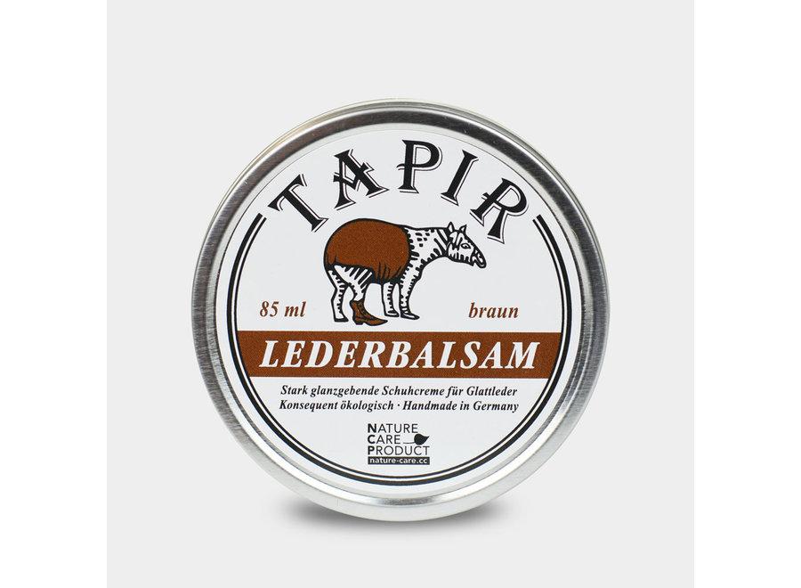 Tapir Lederbalsam braun