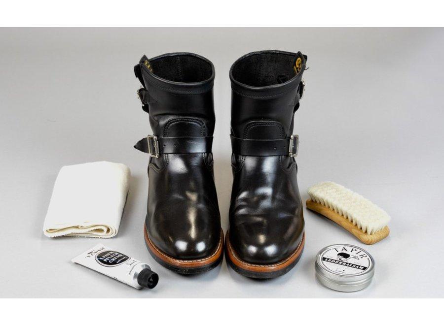 Lederpflegecreme schwarz von Tapir