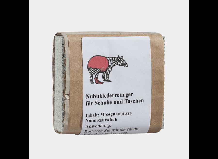 Moosgummi zur Reinigung von Rauleder von Tapir