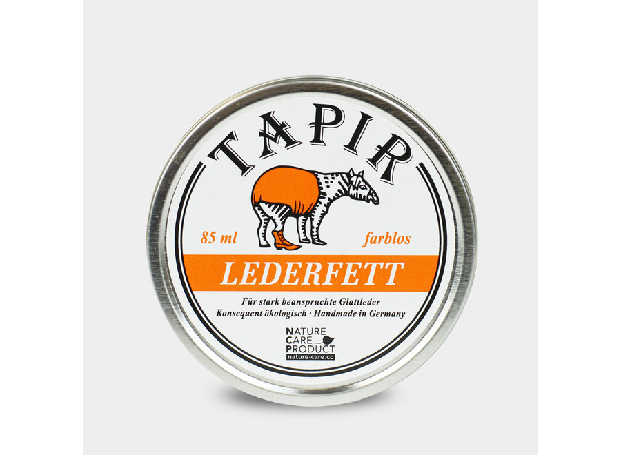 Tapir Lederfett farblos