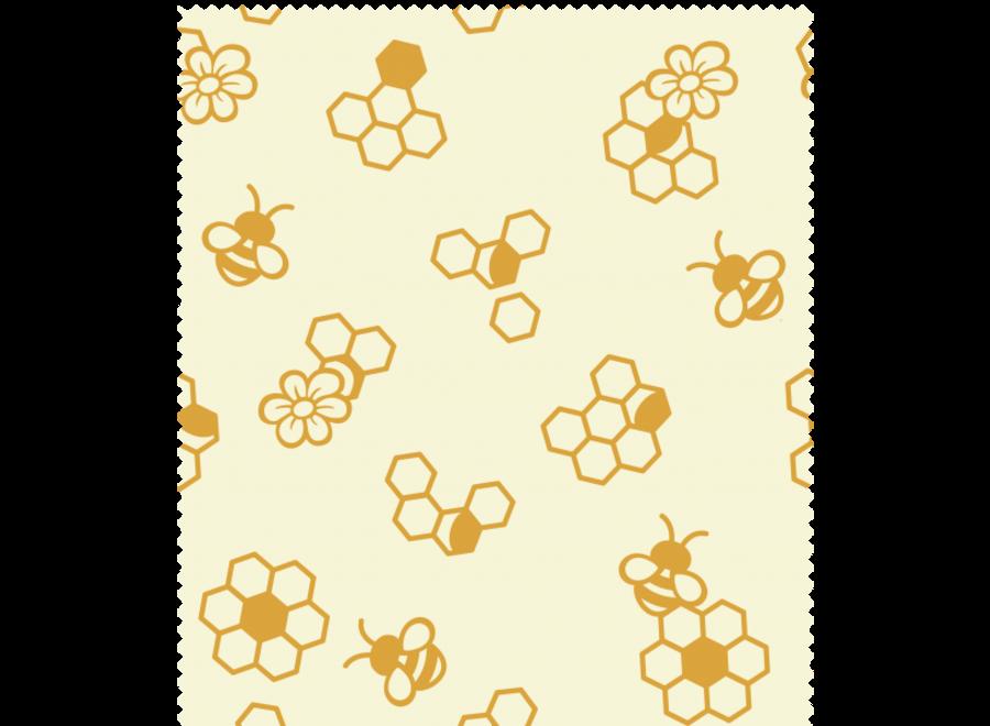 """Bienenwachstuch """"Honigwaben"""" 1 Stk von nuts"""