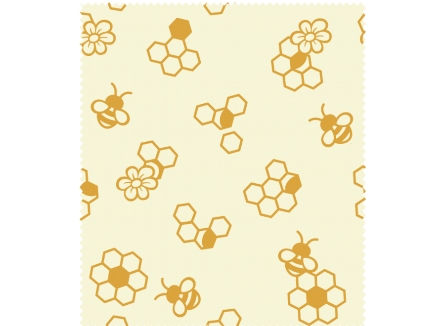 """nuts Bienenwachstuch """"Honigwaben"""" 1 Stk"""