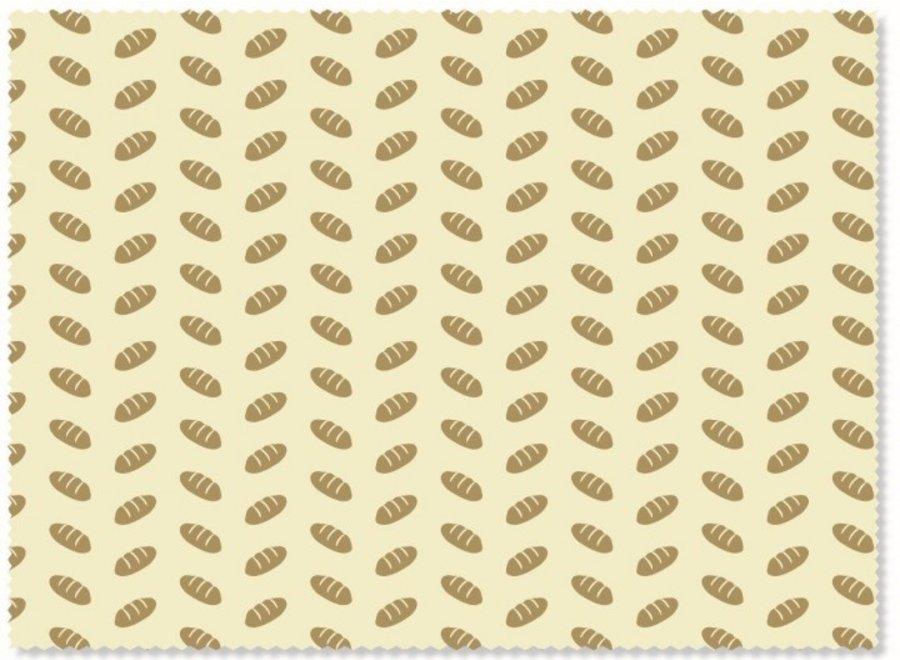 "nuts Bienenwachstuch ""Brot"" 1 Stk"
