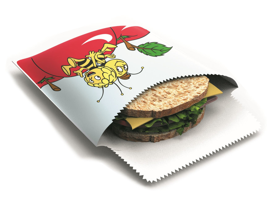 "Sandwich & Snack Beutel ""Maja & Willi"" 1 Stk von nuts"