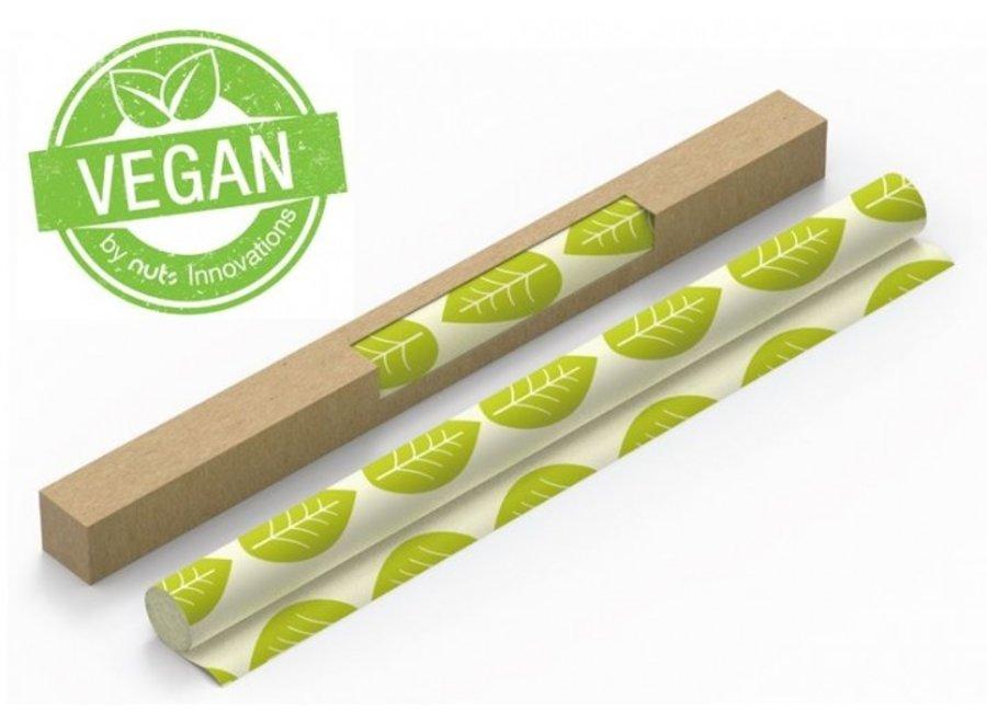 """Vegane Wachstuch Rolle """"Grüne Blätter"""" von nuts"""