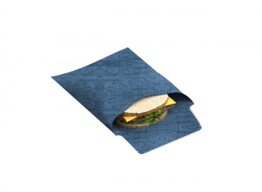 """nuts Sandwich & Snack Beutel """"Jeans"""" 1 Stk"""