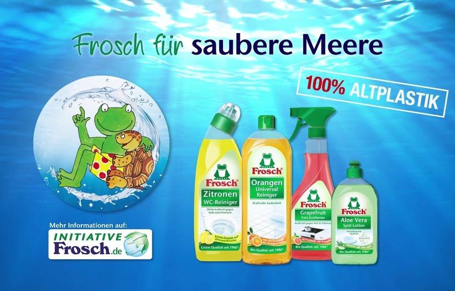 Frosch für saubere Meere