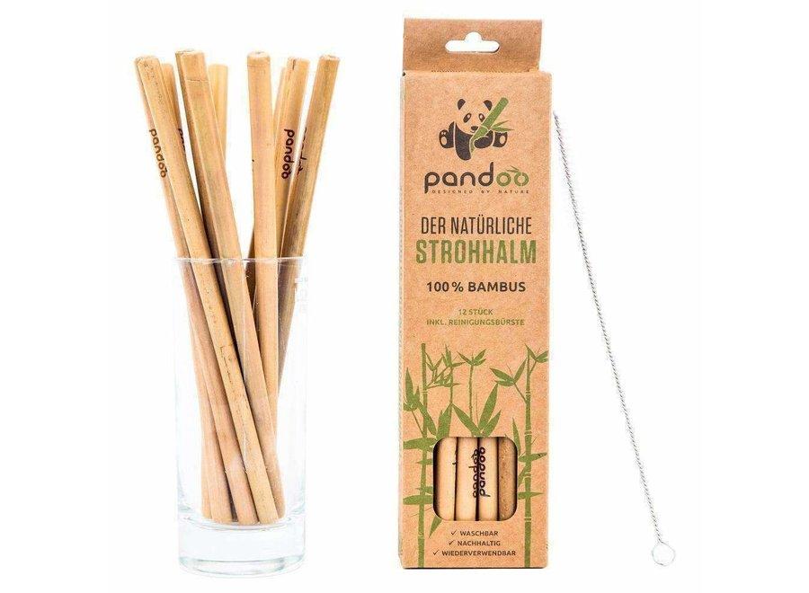 Bambus Strohhalme von Pandoo
