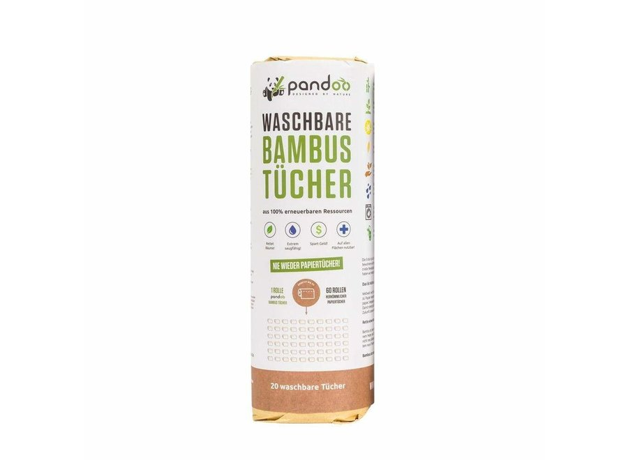 Pandoo Bambus Küchenrolle
