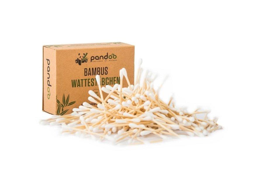 Bambus Wattestäbchen 200 Stück von Pandoo