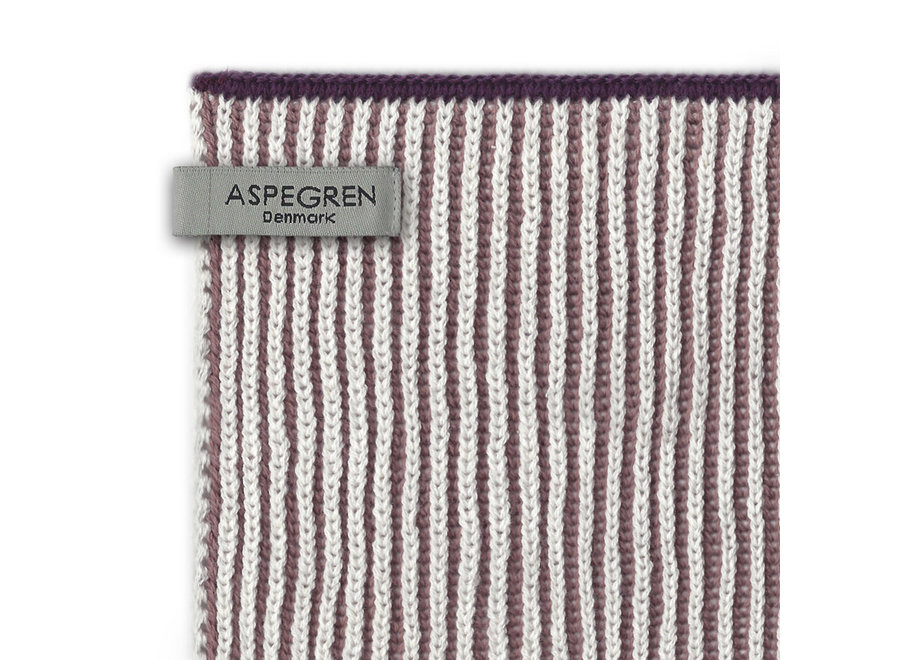 Abwaschtuch Strick Design in Lamella Mauve  von Aspegren