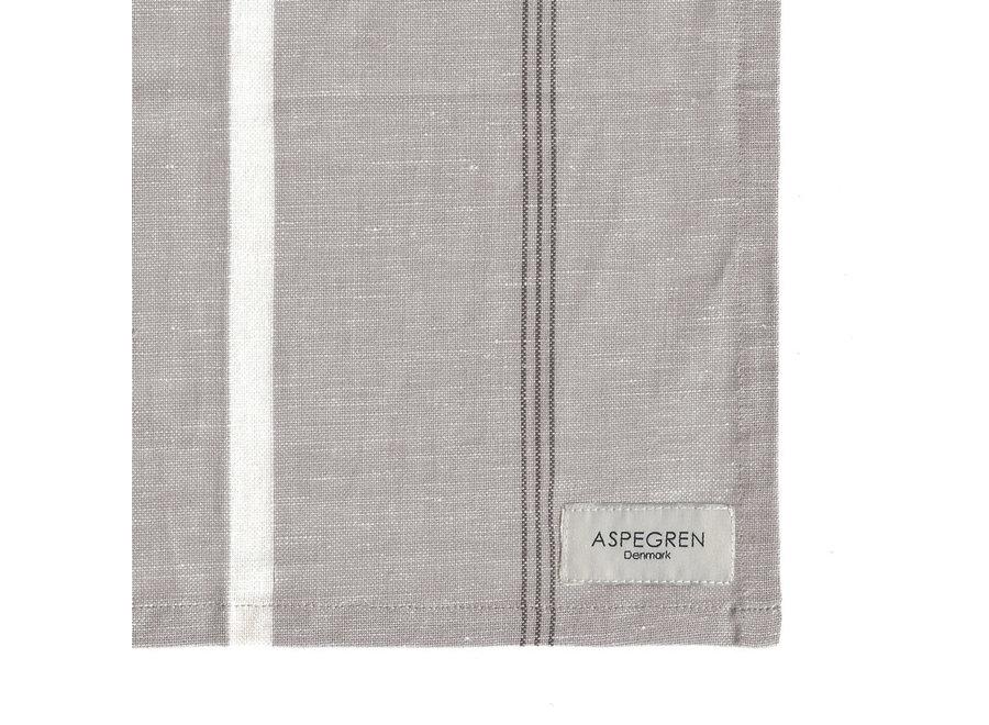Abwaschtuch Pinestripes in Silver Gray von Aspegren