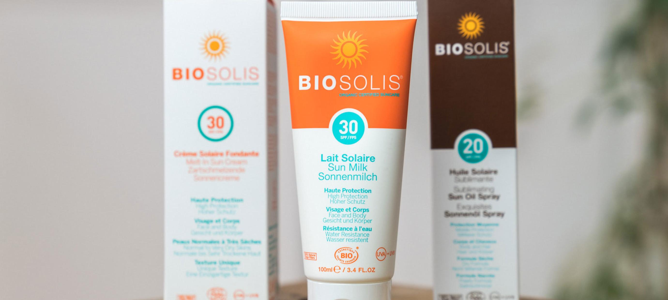 Biosolis - nachhaltiger Sonnenschutz!