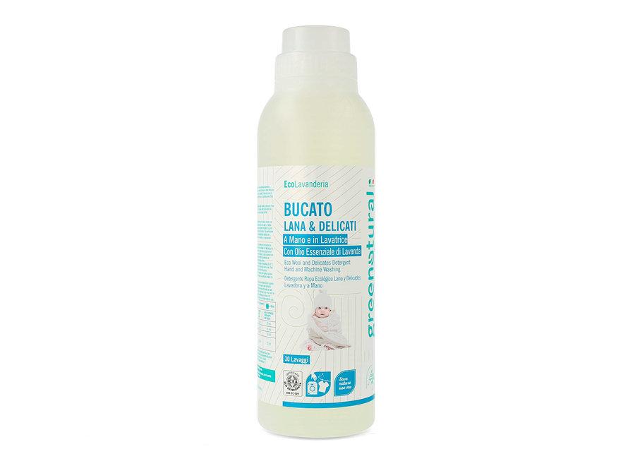 Flüssigwaschmittel Wolle & Feines Lavendel von Greenatural