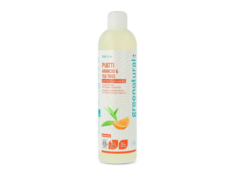 Geschirrspülmittel Orange & Teebaum von Greenatural