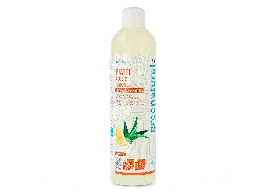 Geschirrspülmittel Aloe Vera & Zitrone von Greenatural