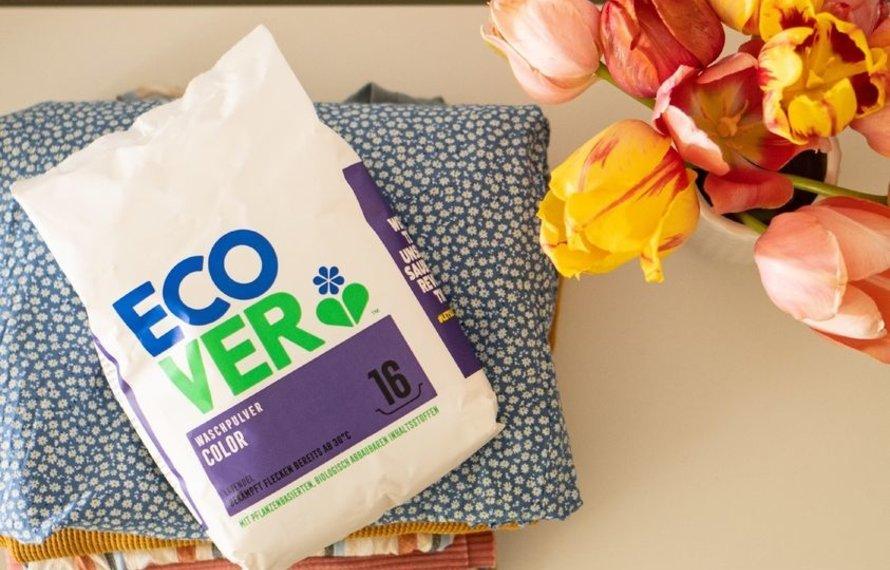 Ecover - nachhaltige Reinigungs- und Waschmittel!