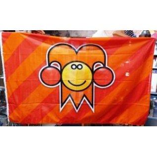 Kielegatse vlag voor aan een vlaggenmast van 7 tot 9 meter