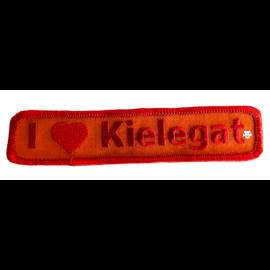 Borduur embleem I love Kielegat 30x125mm