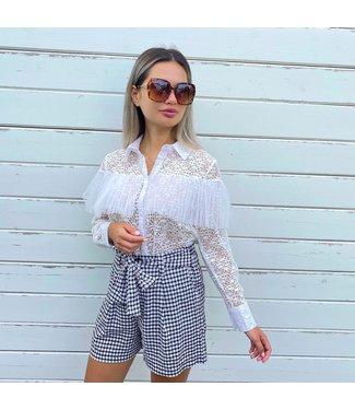 Louiza blouse wit