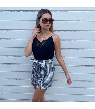 Lily dressing Vichy short
