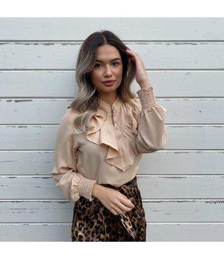 lusy blouse beige
