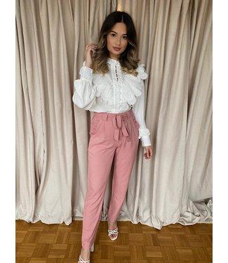 Zara pantalon roze