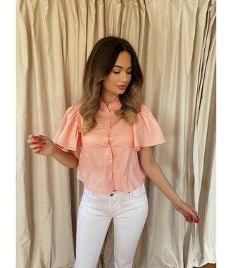 Bow shirt roze