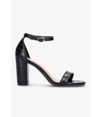 croco heels zwart