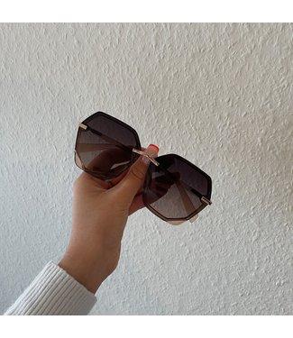 inez  zonnebril donker bruin