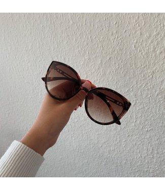 Romy  zonnebril bruin
