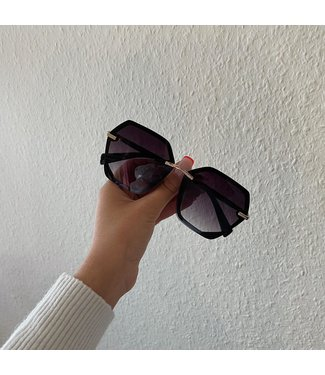 inez  zonnebril zwart