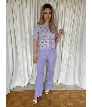 Lou pantalon lila
