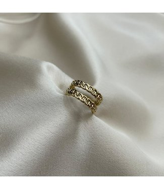 Duo love ring