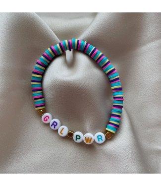 Rainbow grl per armband