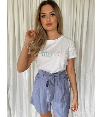 Nona short blauw