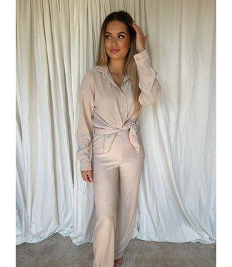 marie blouse beige